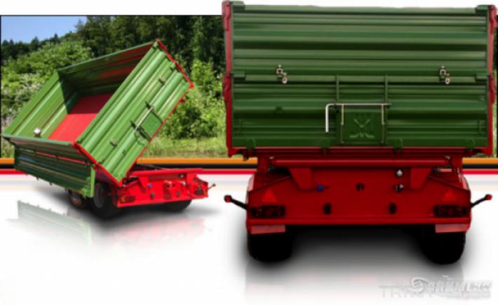 Ремаркета и цистерни Pronar Ремарке T683 и T663/1 3