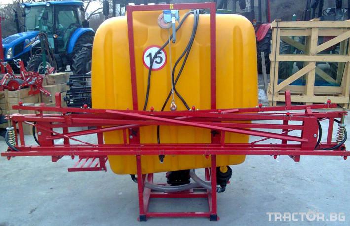 Пръскачки Jar-Met 600 - 1200 l 2 - Трактор БГ