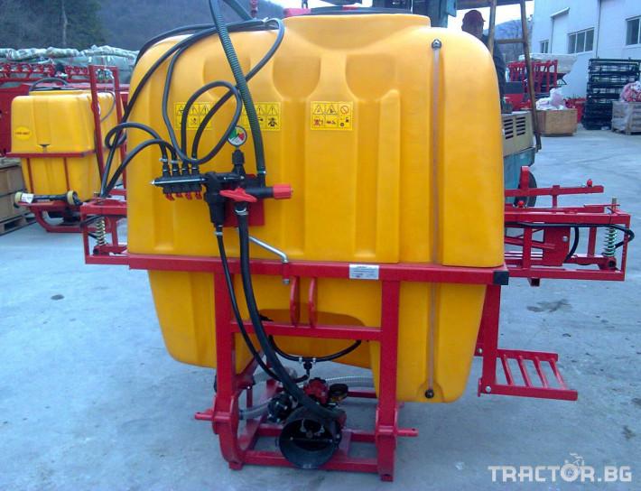 Пръскачки Jar-Met 600 - 1200 l 3 - Трактор БГ