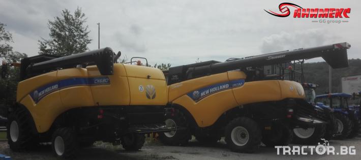 Комбайни New-Holland CX6.80 2 - Трактор БГ