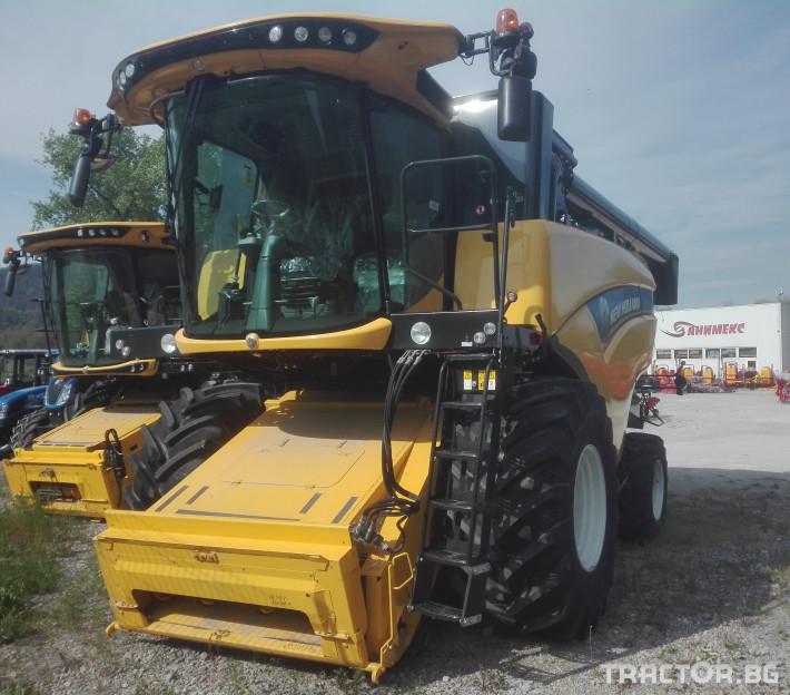 Комбайни New-Holland CX6.80 1 - Трактор БГ
