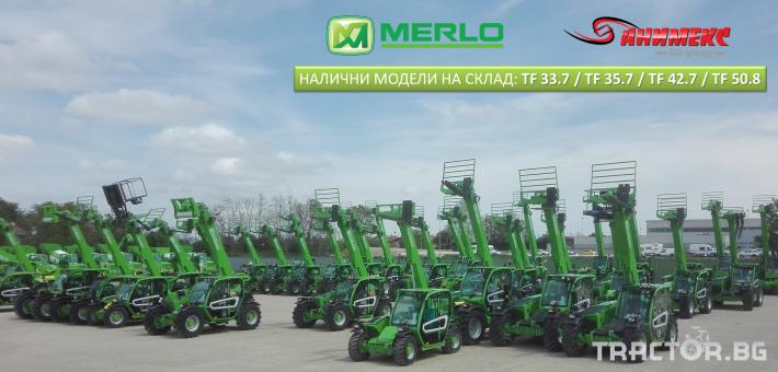 Телескопични товарачи Merlo TF 35.7 3 - Трактор БГ