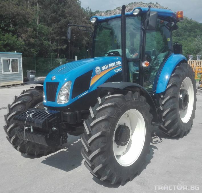 Трактори New-Holland TD100D 4 - Трактор БГ