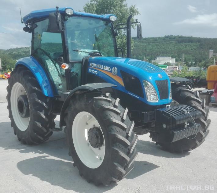 Трактори New-Holland TD100D 5 - Трактор БГ
