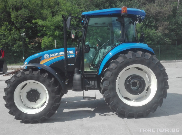 Трактори New-Holland TD100D 6 - Трактор БГ
