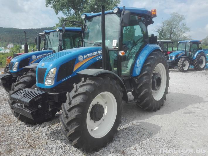 Трактори New-Holland TD100D 8 - Трактор БГ