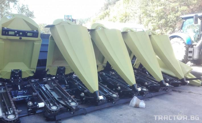 Хедери за жътва Oros CORNADO 6 CHOP FIX 3 - Трактор БГ