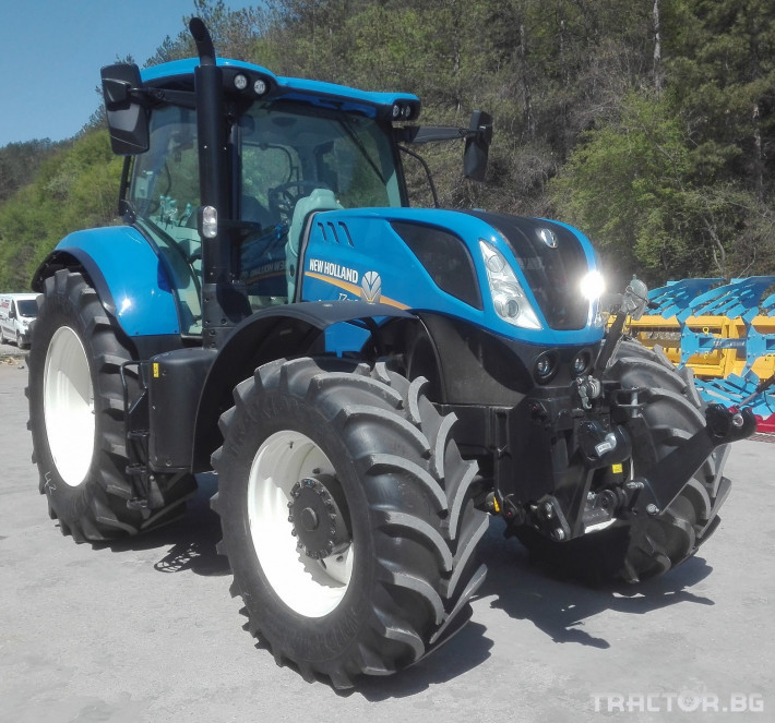Трактори New-Holland T7.215S 0 - Трактор БГ