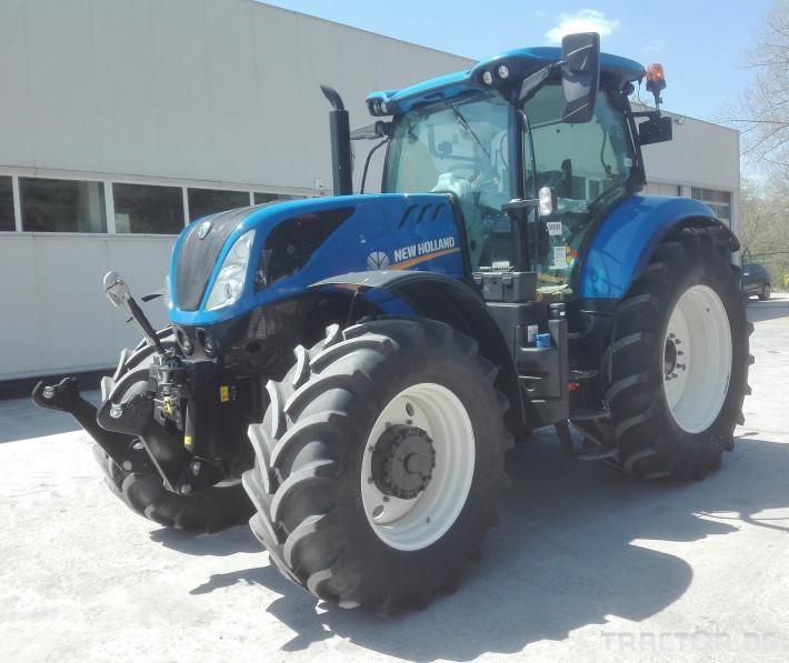 Трактори New-Holland T7.215S 3 - Трактор БГ