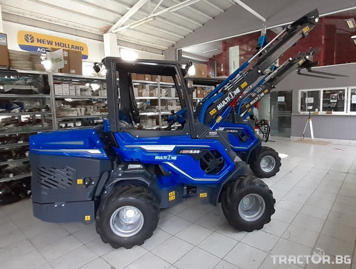 Телескопични товарачи MultiOne 8.5S 0 - Трактор БГ