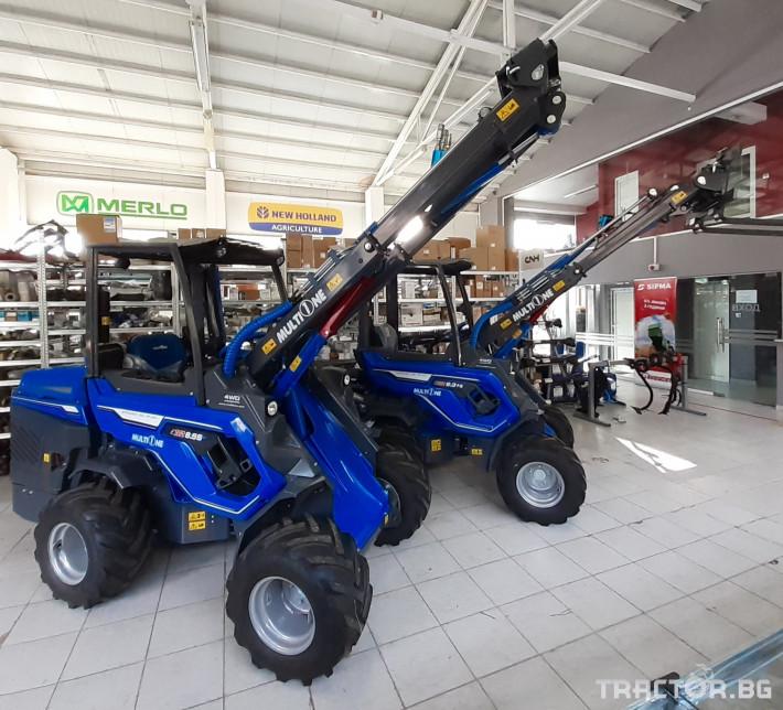 Телескопични товарачи MultiOne 8.5S 3 - Трактор БГ