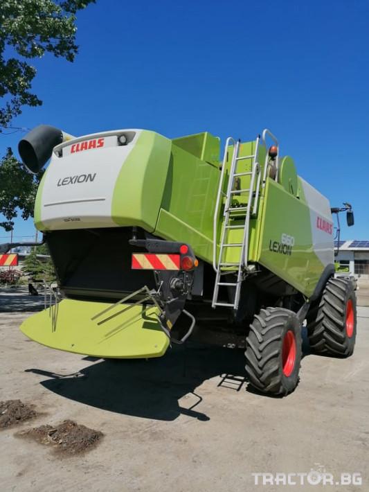 Комбайни Claas Lexion 660 1 - Трактор БГ