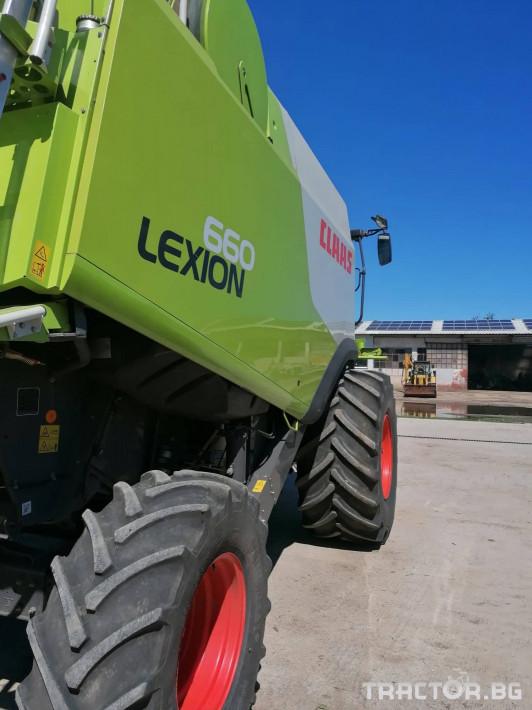 Комбайни Claas Lexion 660 2 - Трактор БГ