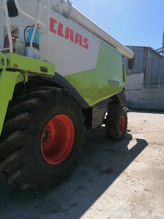Комбайни Claas Lexion 660 5 - Трактор БГ