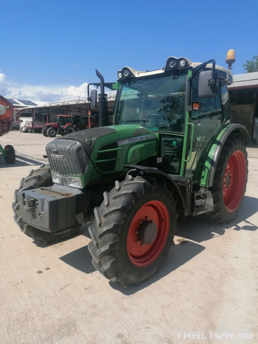 Трактори Fendt 210 Vario 0 - Трактор БГ