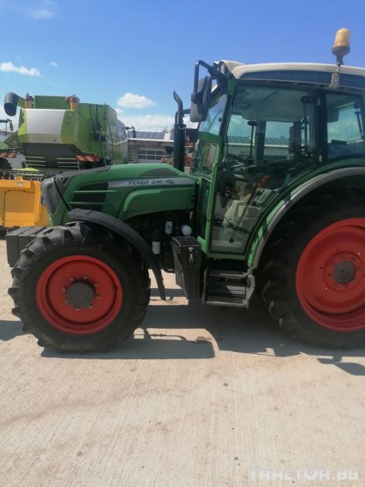 Трактори Fendt 210 Vario 16 - Трактор БГ