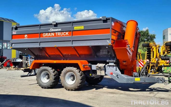 Ремаркета и цистерни Variant Agro Build Саморазтоварващо ремарке за зърноGT-30 0 - Трактор БГ