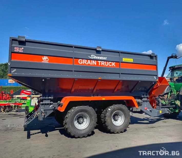 Ремаркета и цистерни Variant Agro Build Саморазтоварващо ремарке за зърноGT-30 2 - Трактор БГ